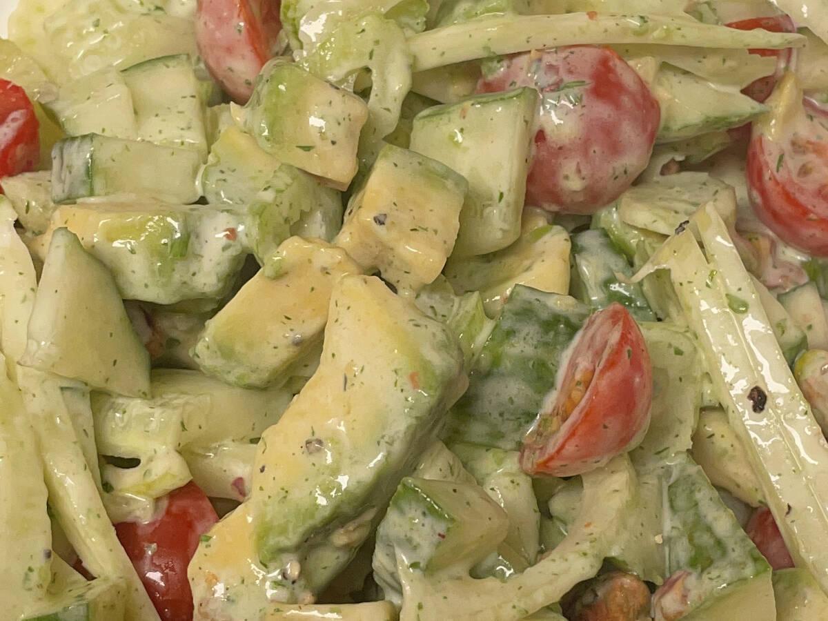 Fenchel Avocado Salad
