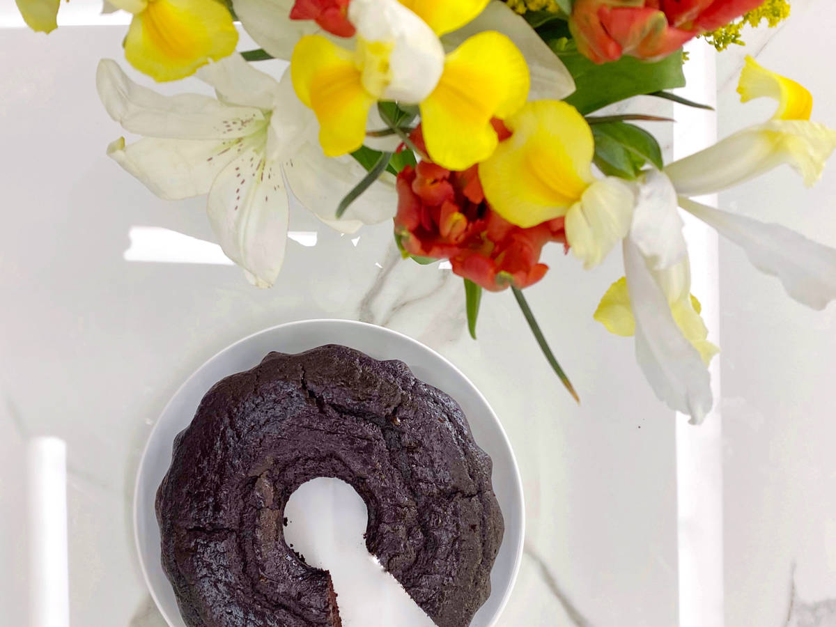 Vegan Versatile Chocolate Cake