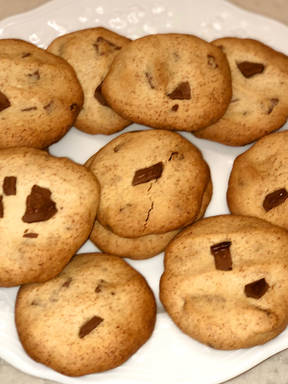 Chocolate chip cookies ))))