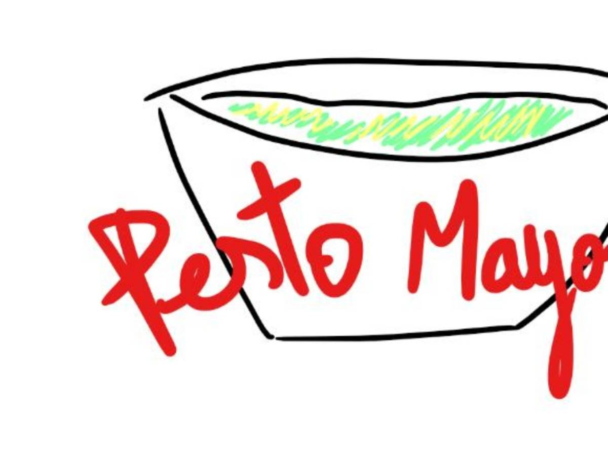 pesto mayonnaise