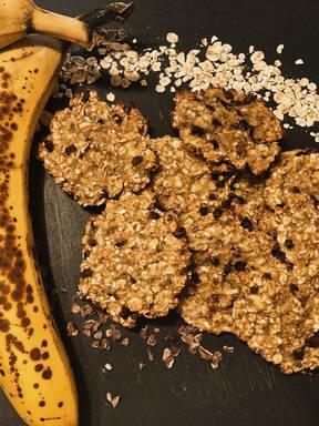 Schnelle Hafer-Bananen-Kekse