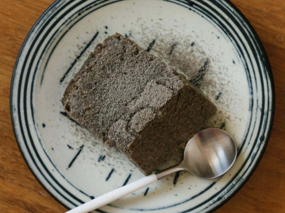 黑芝麻鹰嘴豆蛋糕🧈