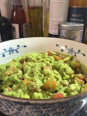 Hausgemachte Guacamole