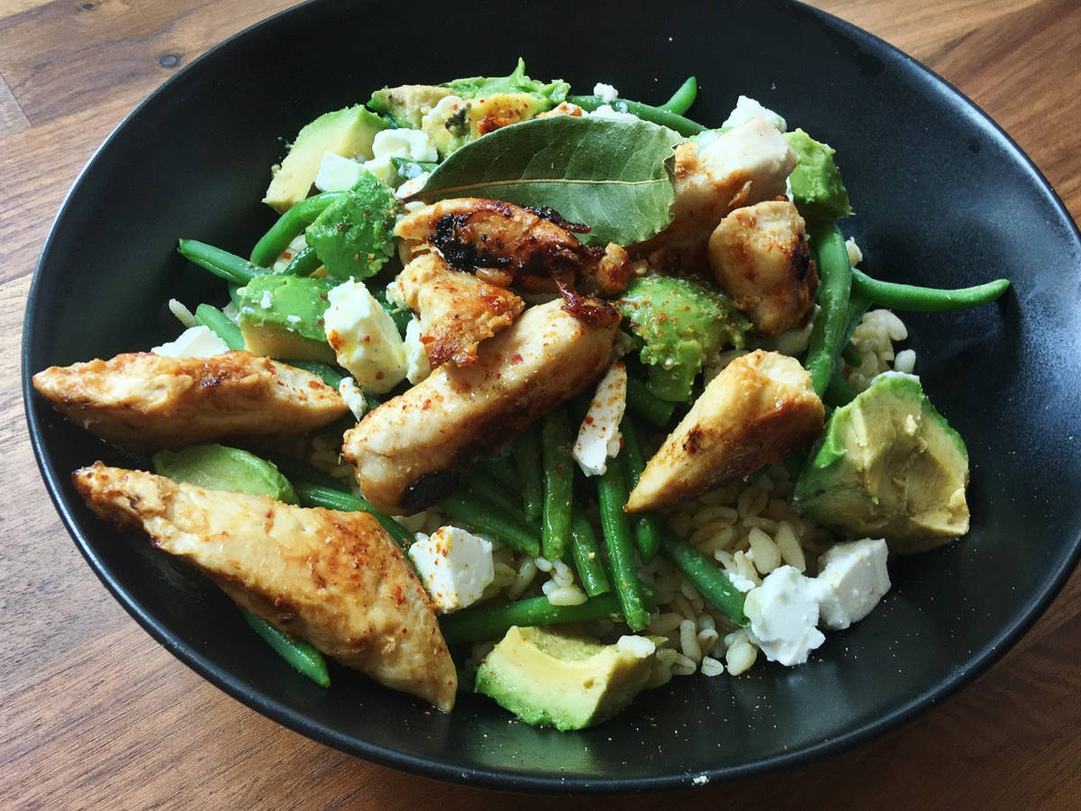 Chicken Avocado Bowl