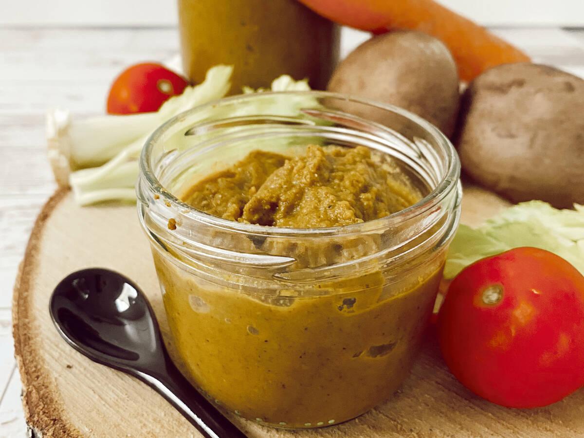 Gewürzpaste für Gemüsebrühe (vegan)