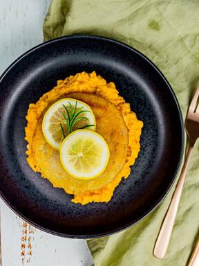 Veganes Kohlrabi-Schnitzel