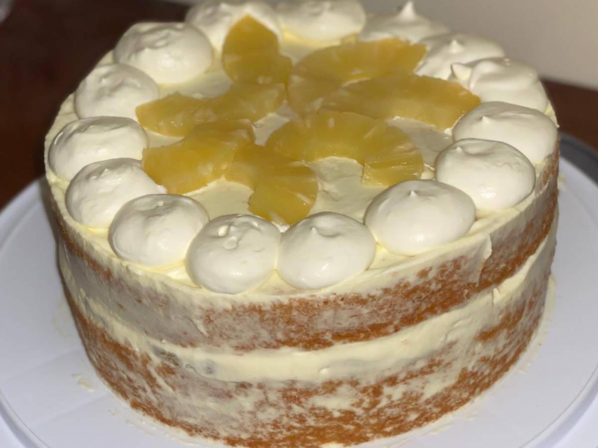 Summers Day Chiffon Cake