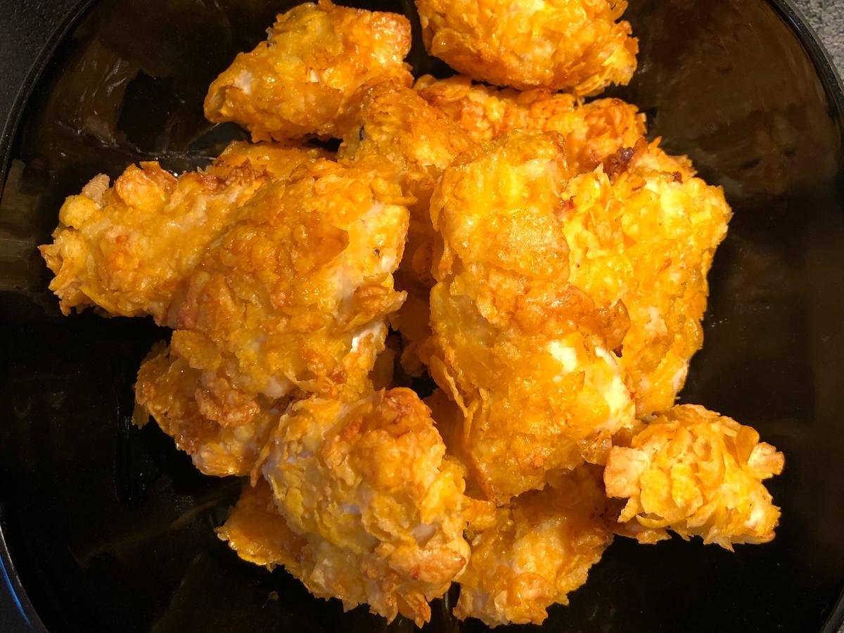 crispy chicken nuggets aus dem Backofen 🤩