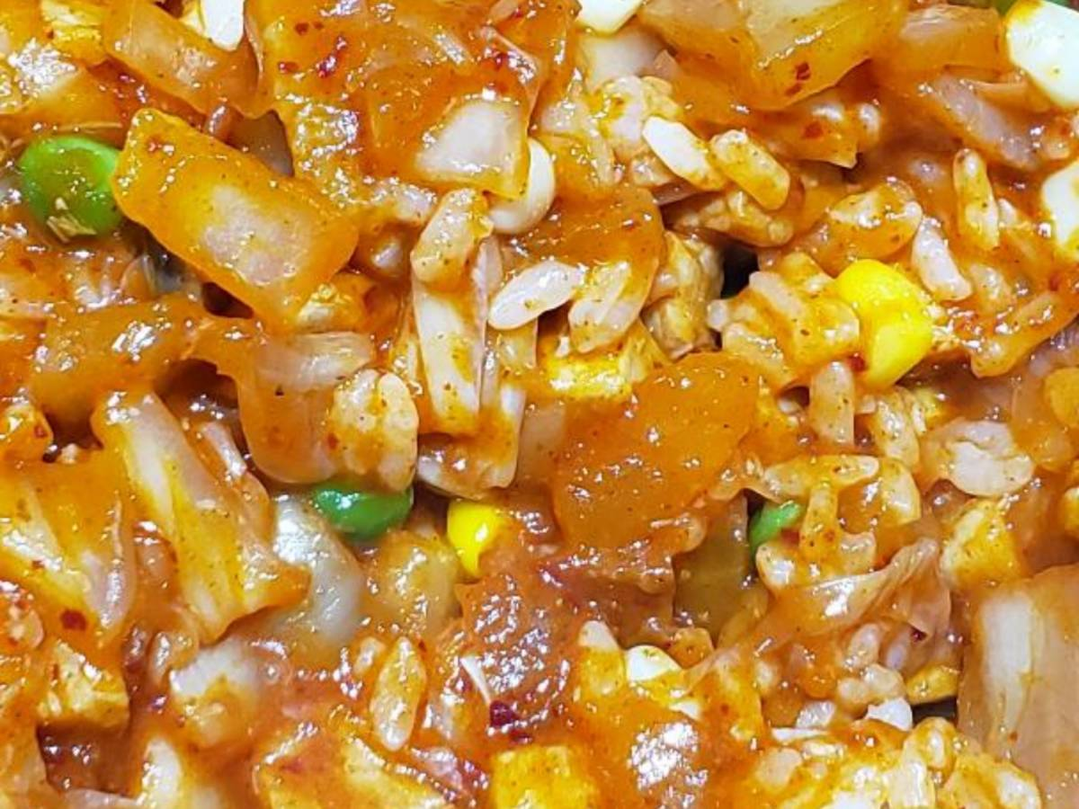 kimichi fried rice