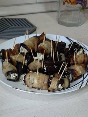 Eggplant roll