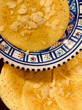 بغرير-Bghrir (Northafrican pancakes) 🇹🇳🇩🇿🇲🇦