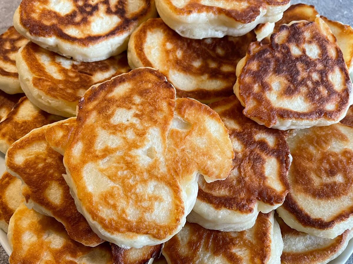 Yeast Pancakes (Rauga pankūkas)