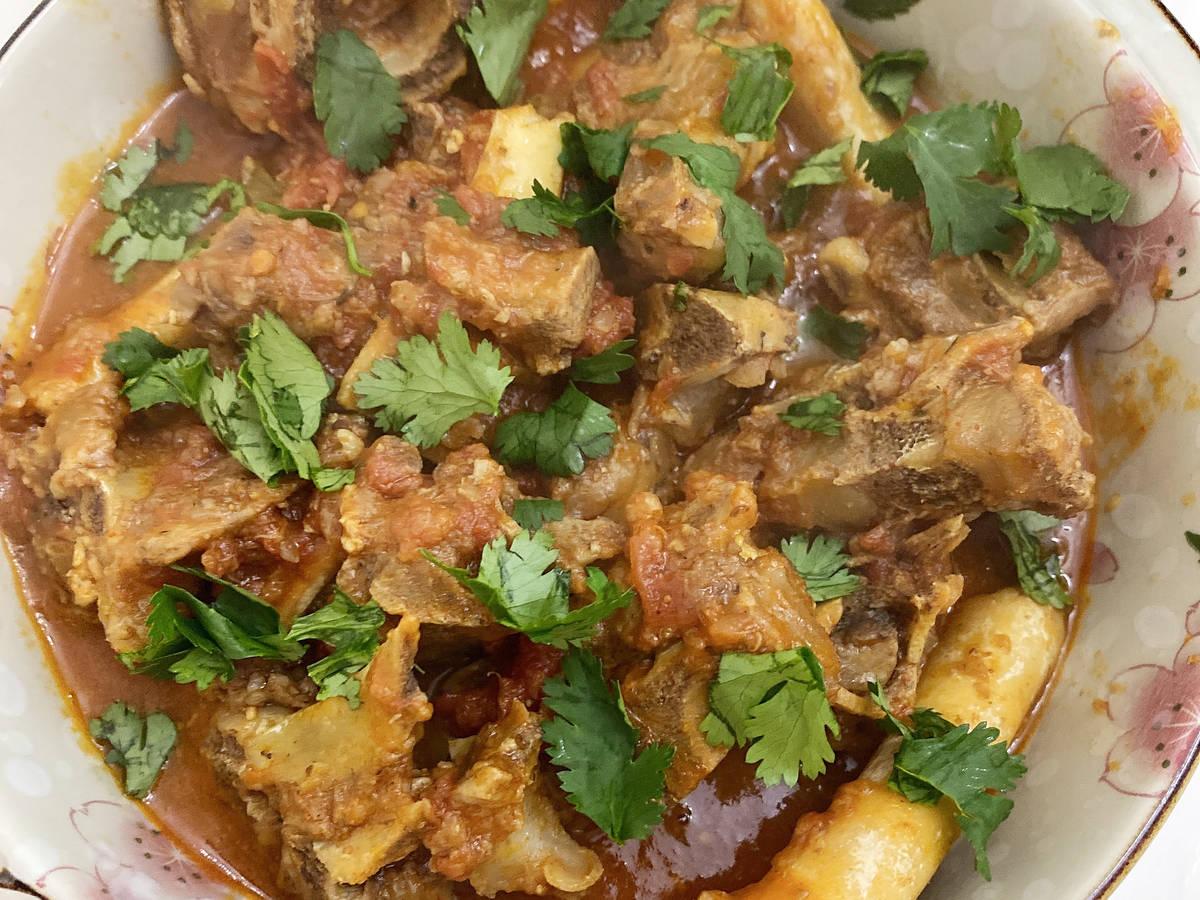 Sindhi-Style Spicy Mutton