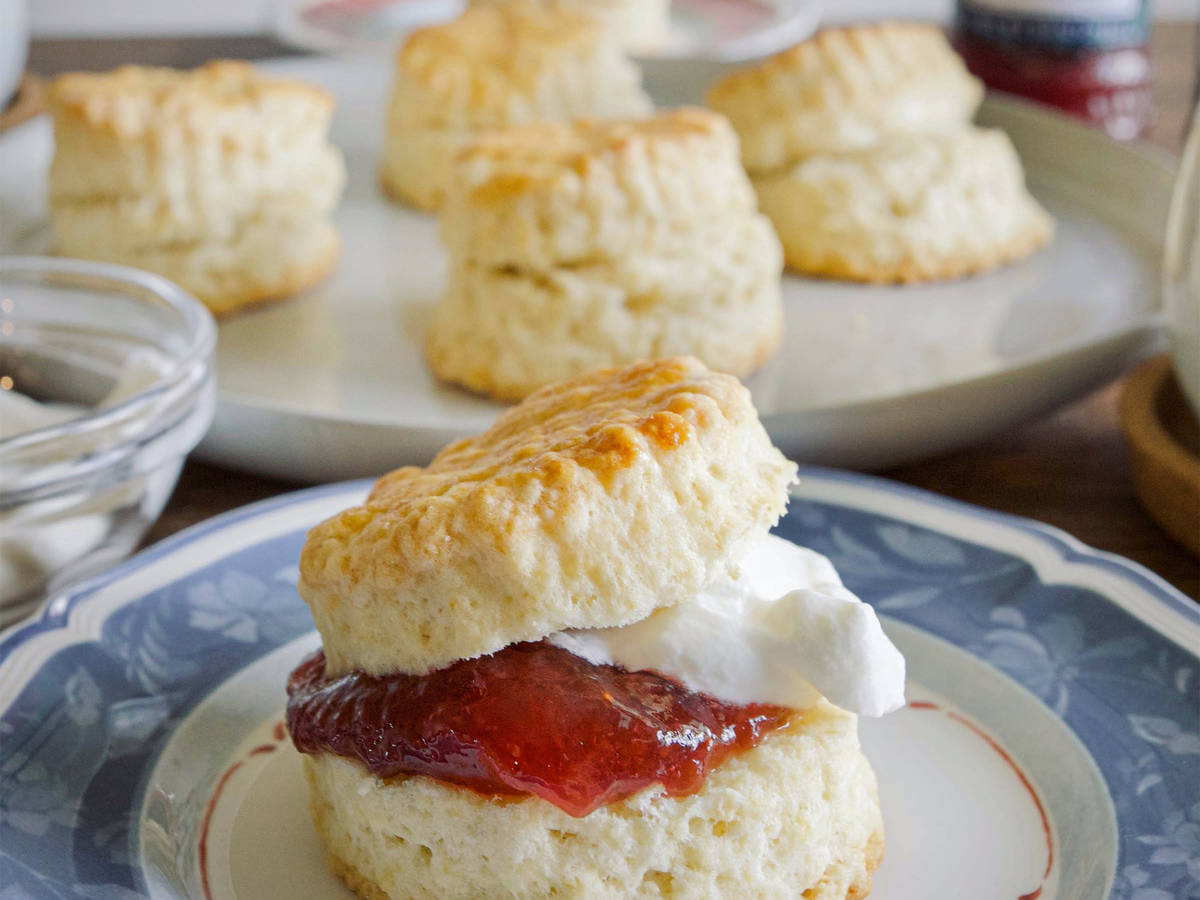 Buttery Original Scones for Teatime