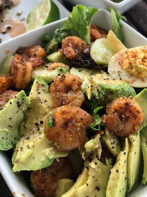 Asian Shrimp Salad With Ginger Dressing