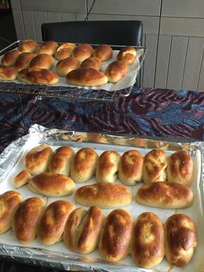 Soft white buns.