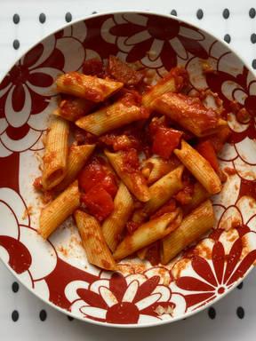 Chorizo and Pepper Pasta