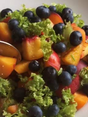 Morning salad 🍇