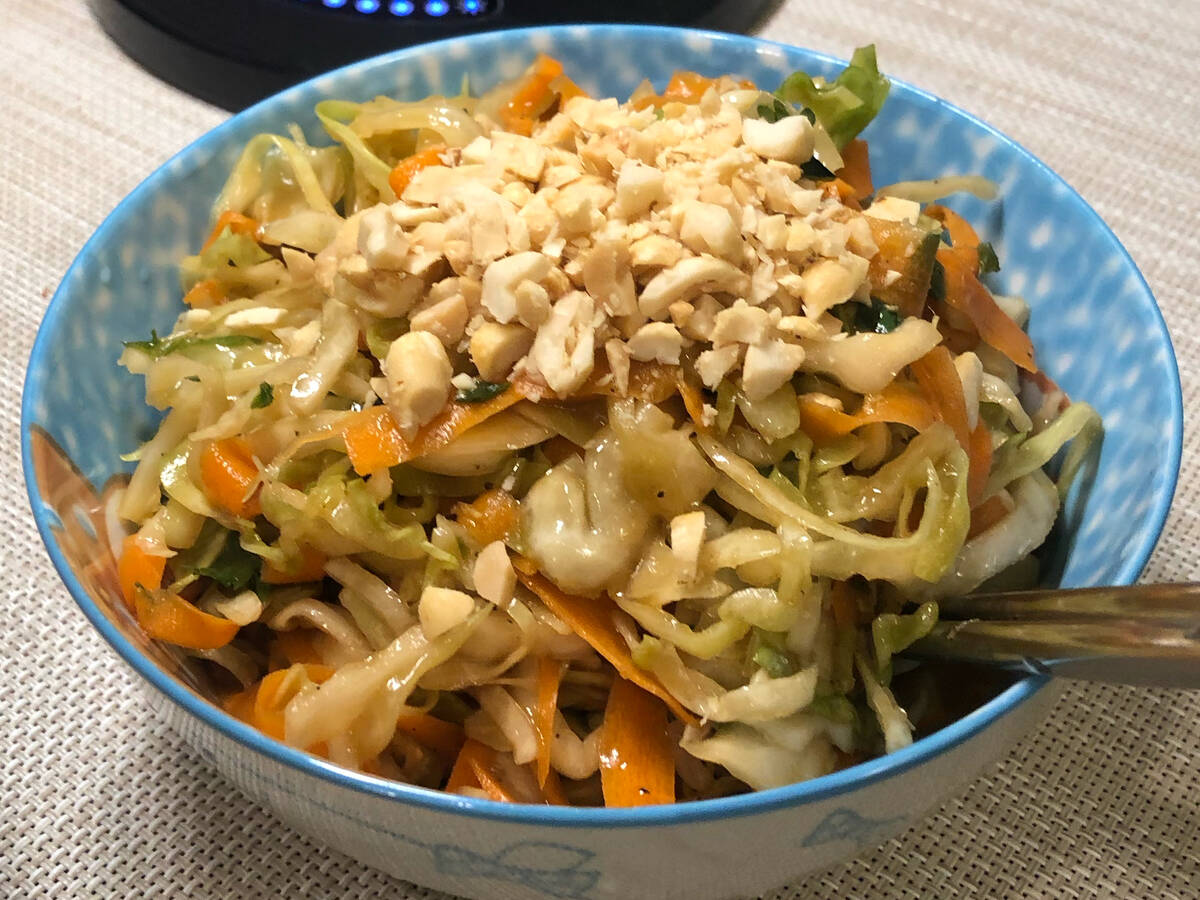 Asian Cabbage & Noodle Salad