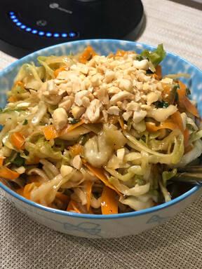 Asian Cabbage & Noodle Salad