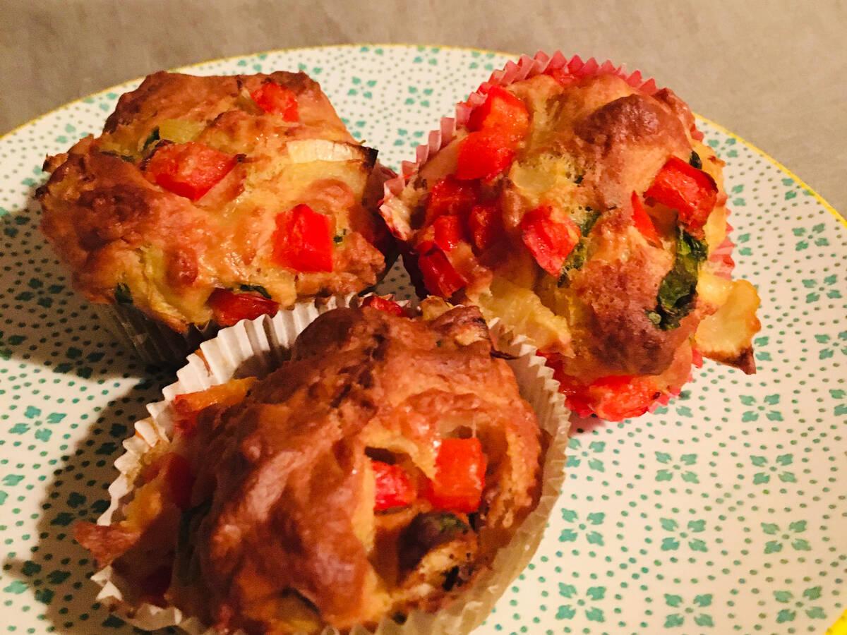 Herzhafte Gemüse-Muffins