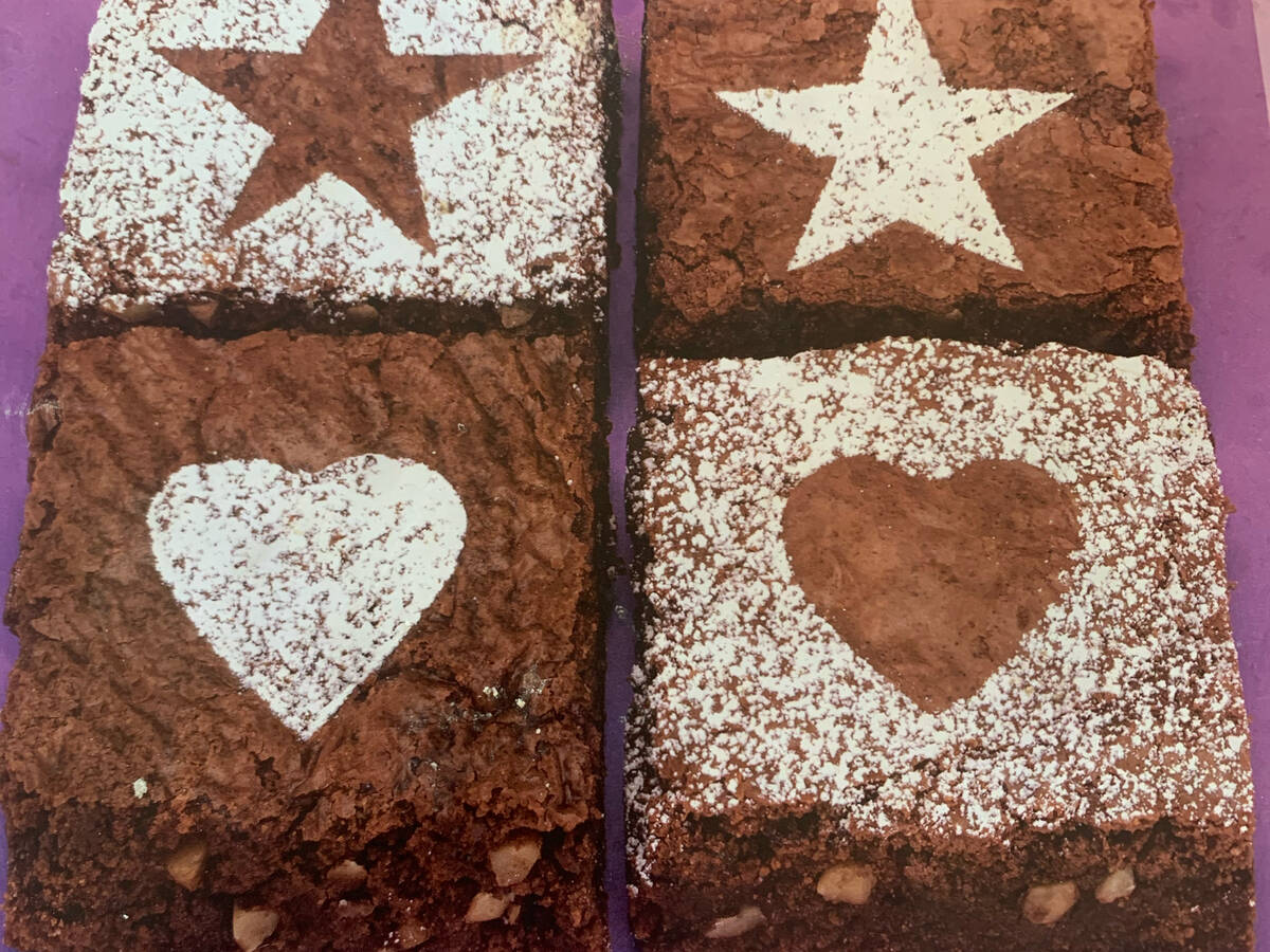 Iconic chocolate walnut brownies