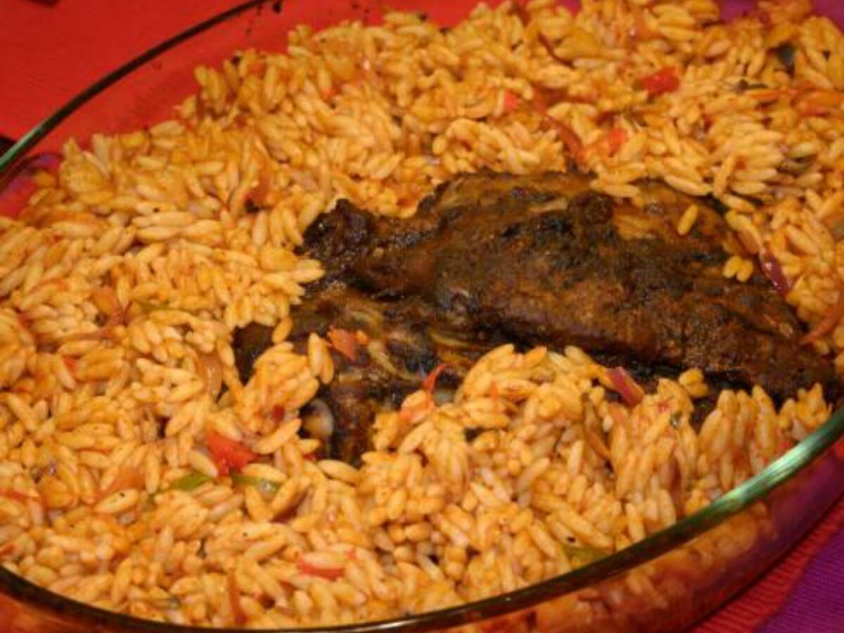 Dukkah-baked Lamb with Orzo