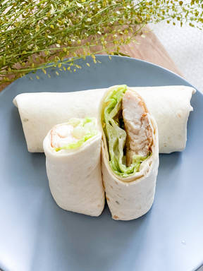 Easy chicken wrap