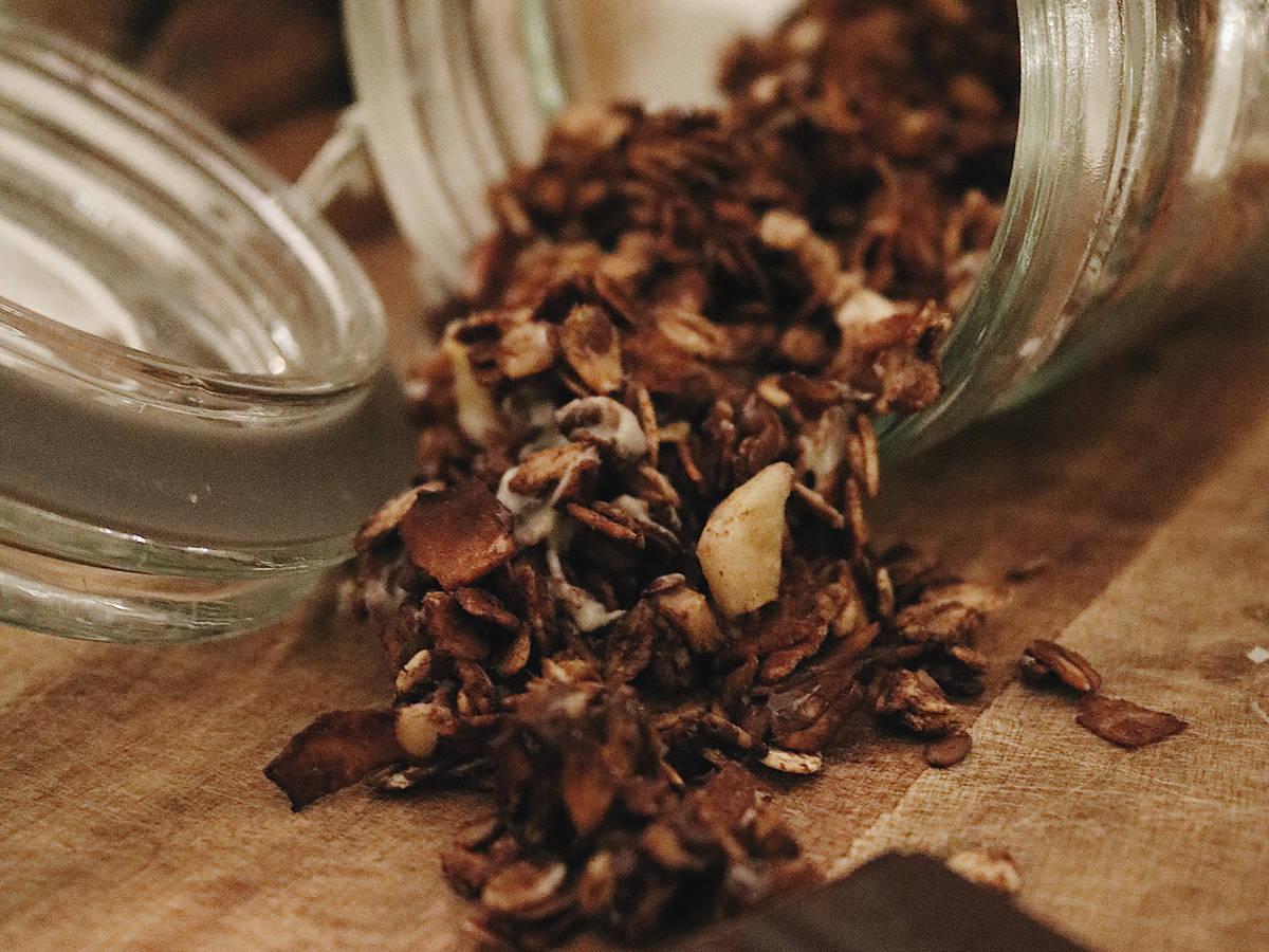 Schokoladiges Knuspermüsli