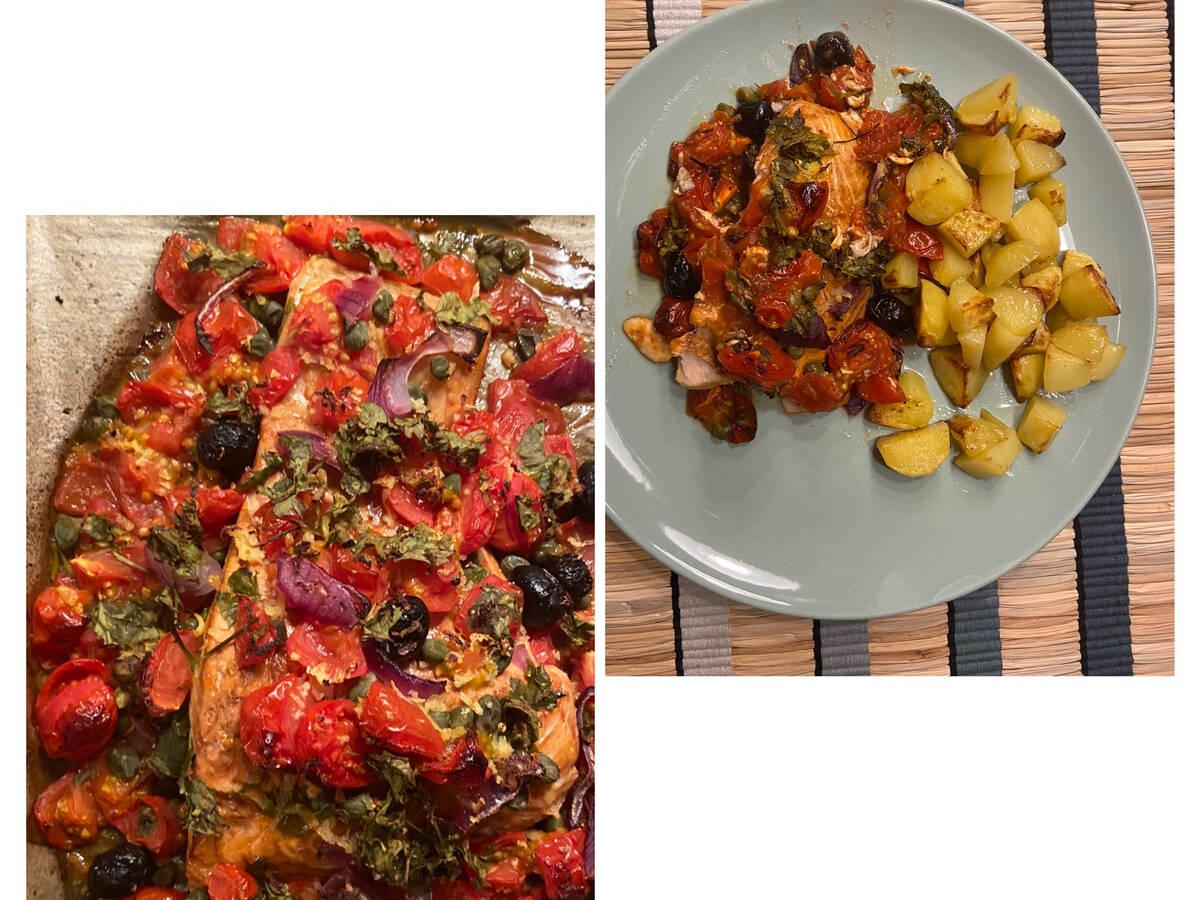 3-Step Mediterranean Salmon Fillet