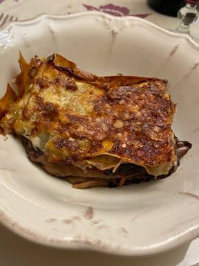 Lasagne with Radicchio and Gorgonzola