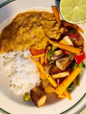 Vietnamesisches Reisgericht