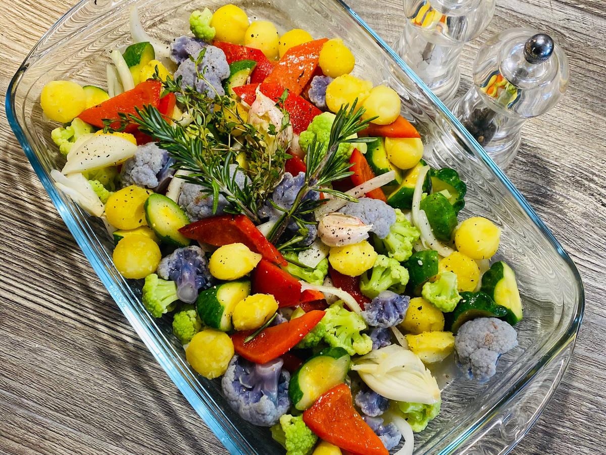 Geschmorte Gemüse