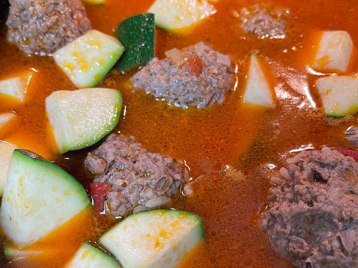 Jesse's Meatball Stew