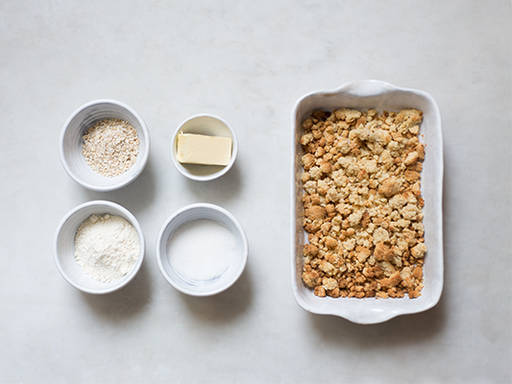 How to make crumble topping