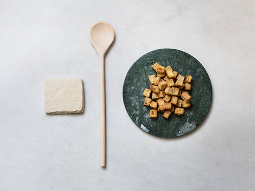 How to make crunchy tofu bites