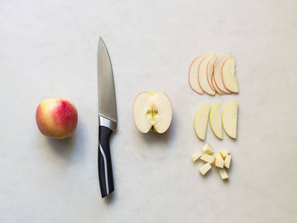 How to core and slice an apple