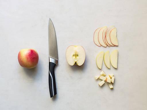 苹果的正确切开方式