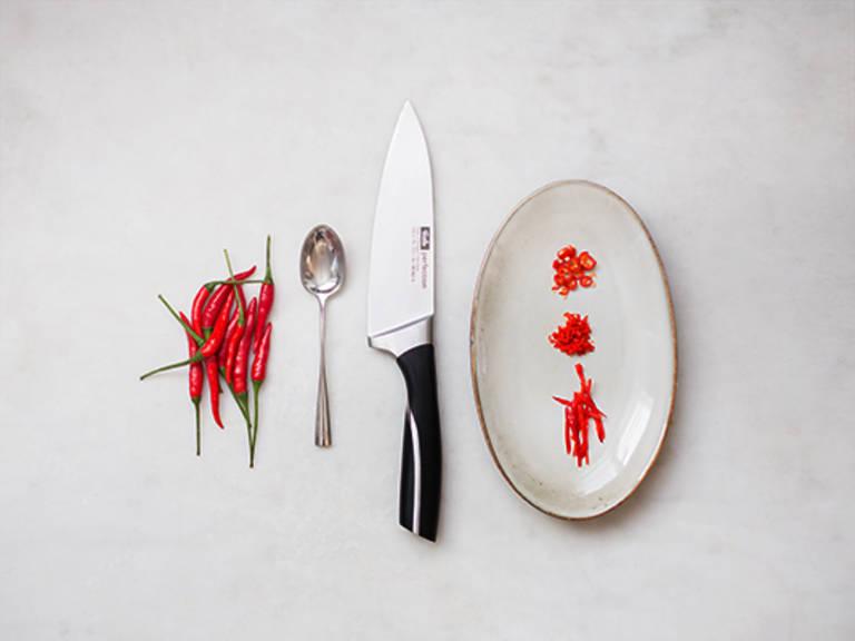 How to prepare a chili