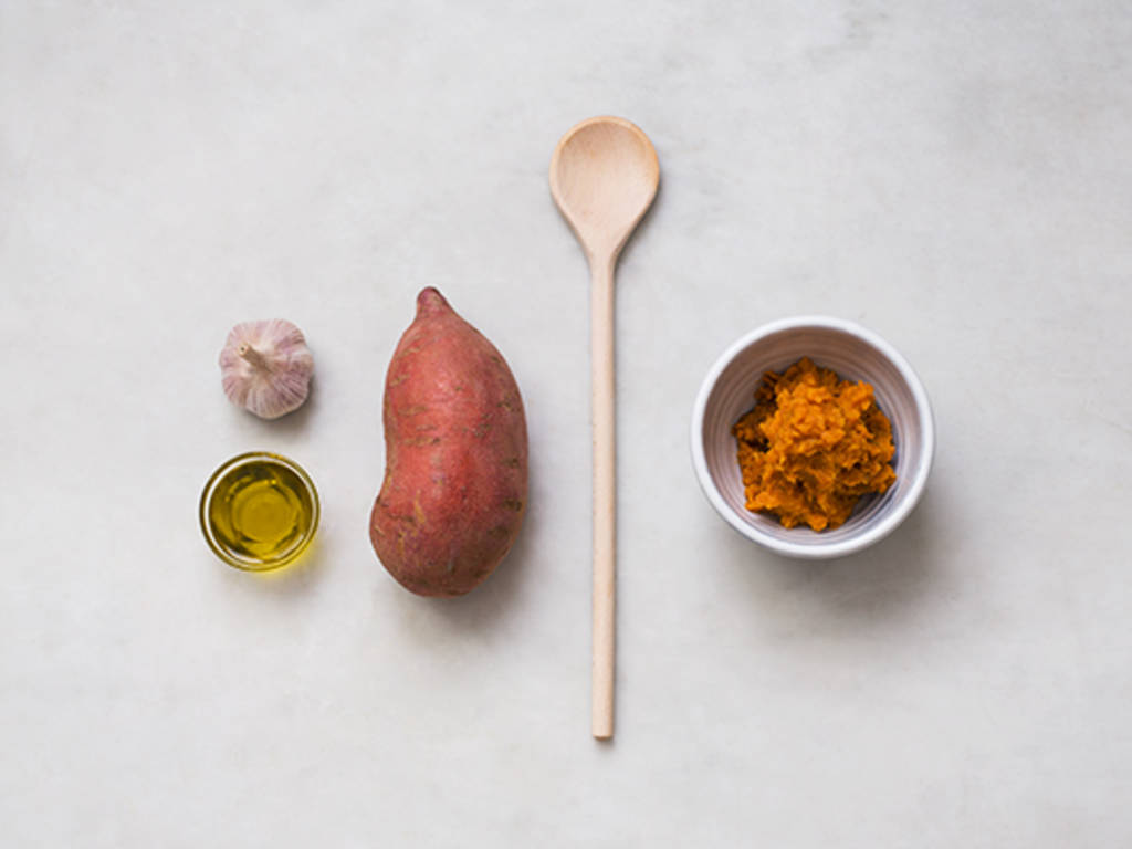 如何制作红薯泥