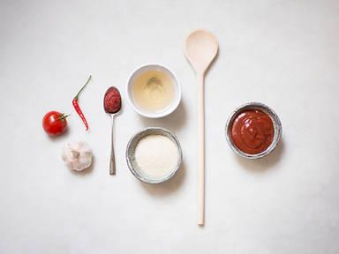 Homemade ketchup