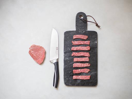 如何切薄肉片