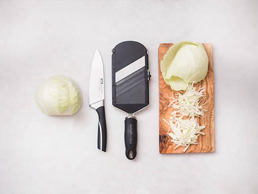 如何切卷心菜