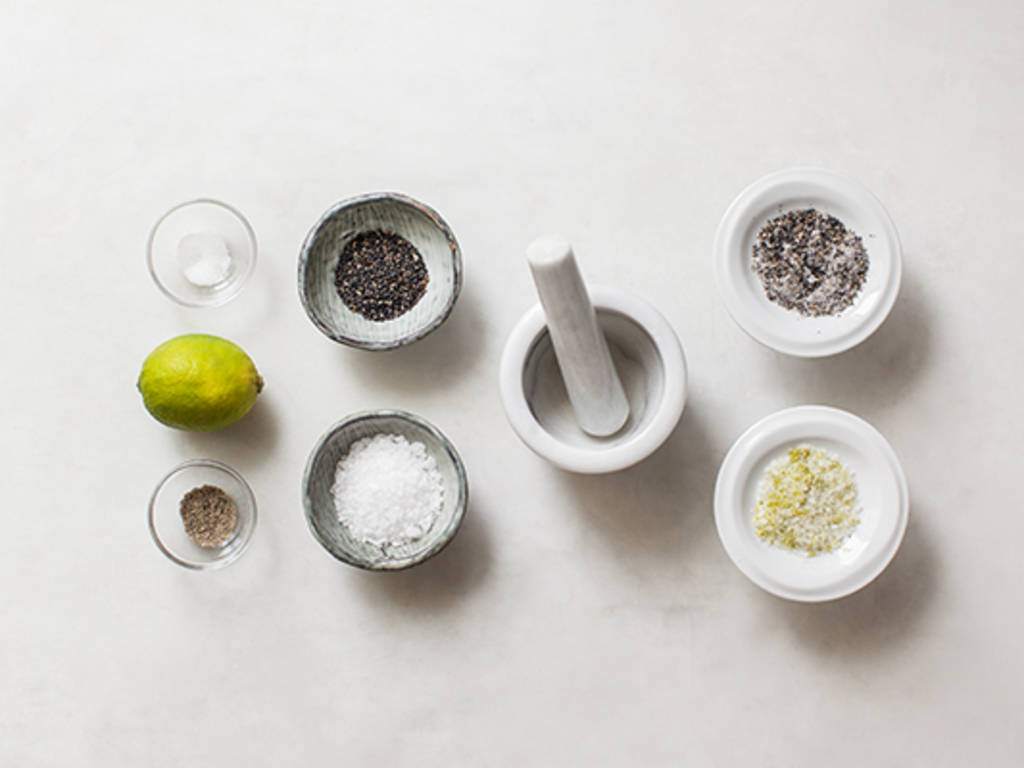 Homemade seasoning salt