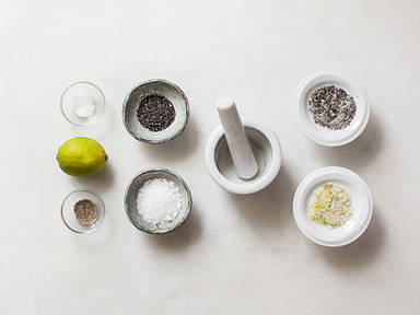 Homemade seasoning salt