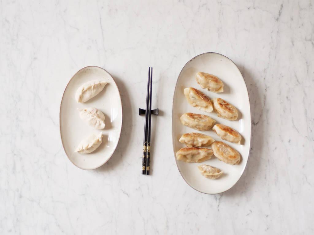 Dumplings richtig anbraten