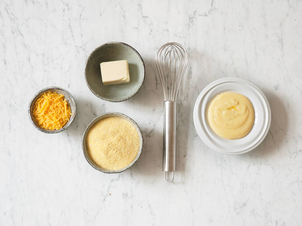 How to make creamy polenta