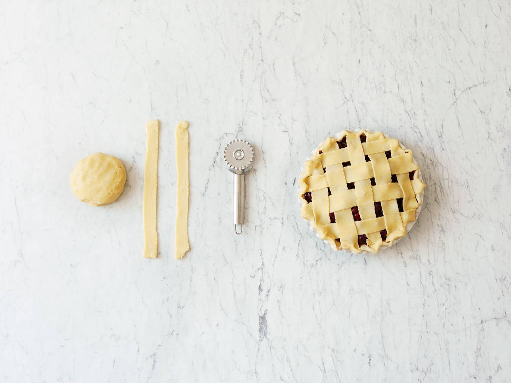 The easiest way for prettier pies