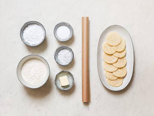Einfache Shortbread-Kekse