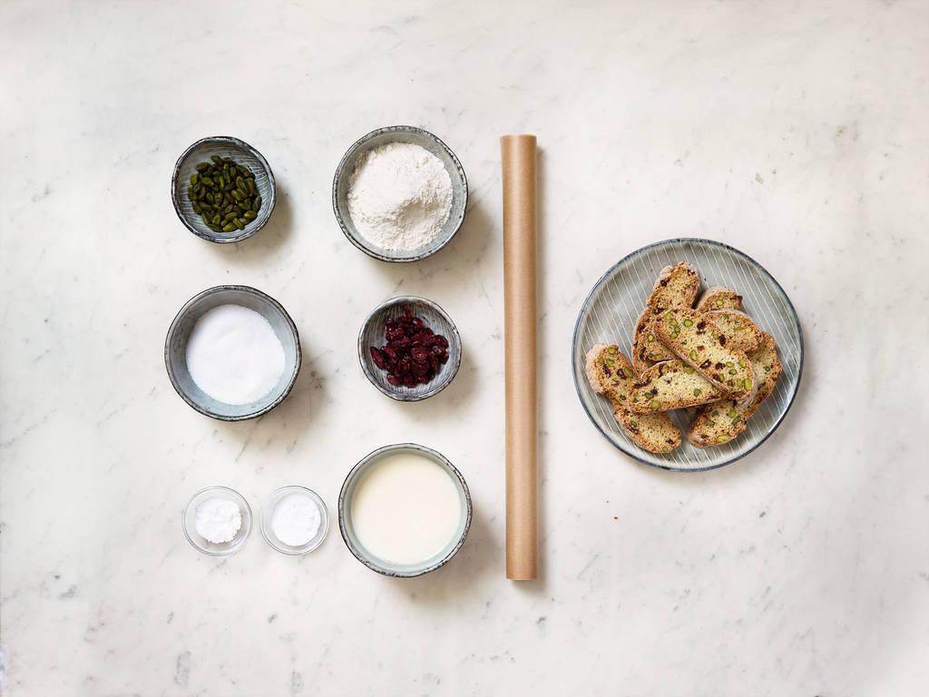 Cranberry-Pistazien-Biscotti